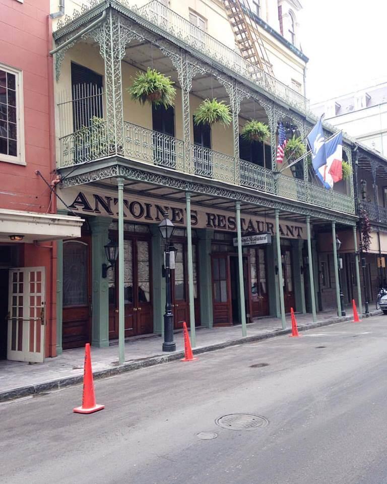 Antoine's Restaurant storefront