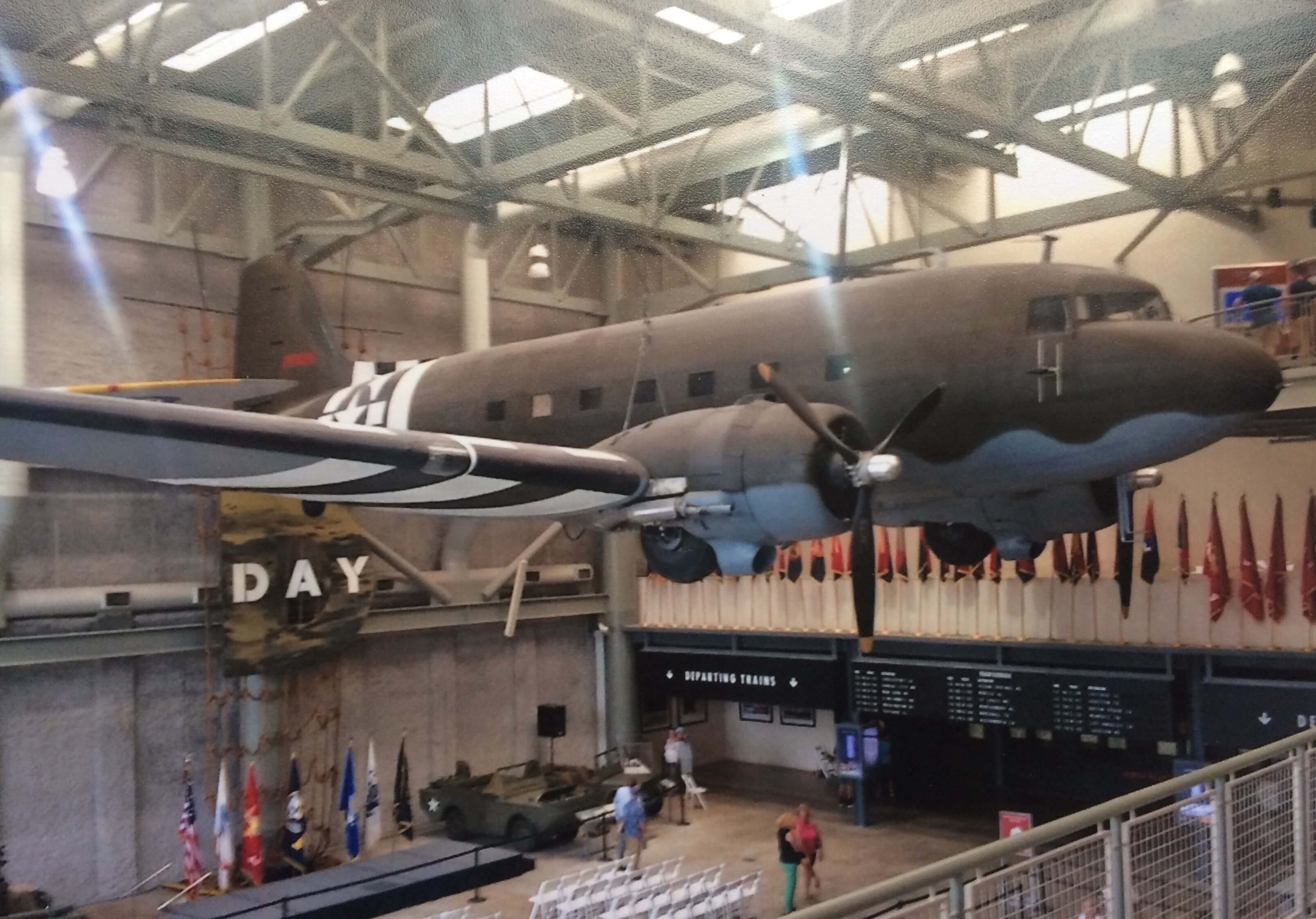 WWII museum fighter jet