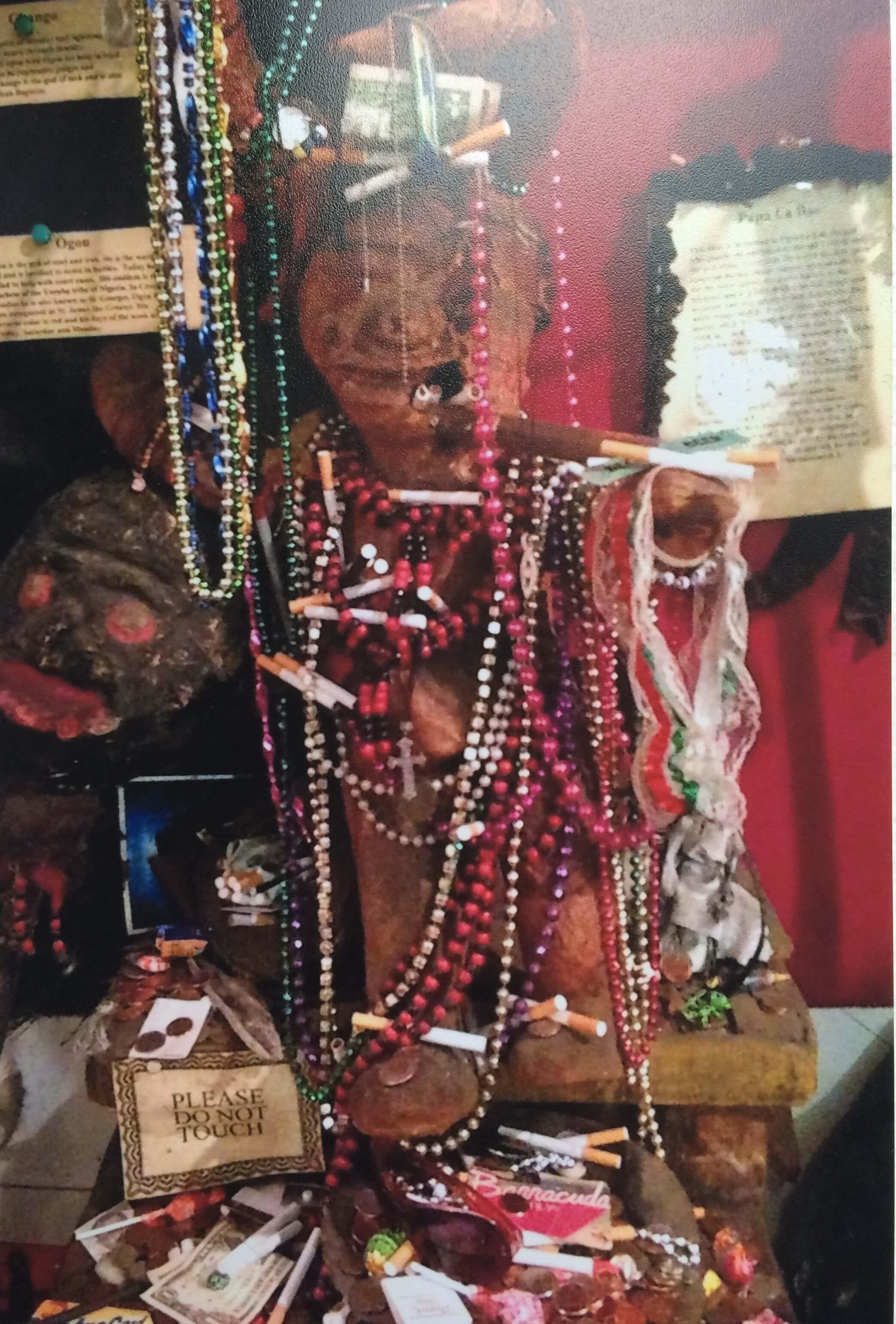 voodoo statue