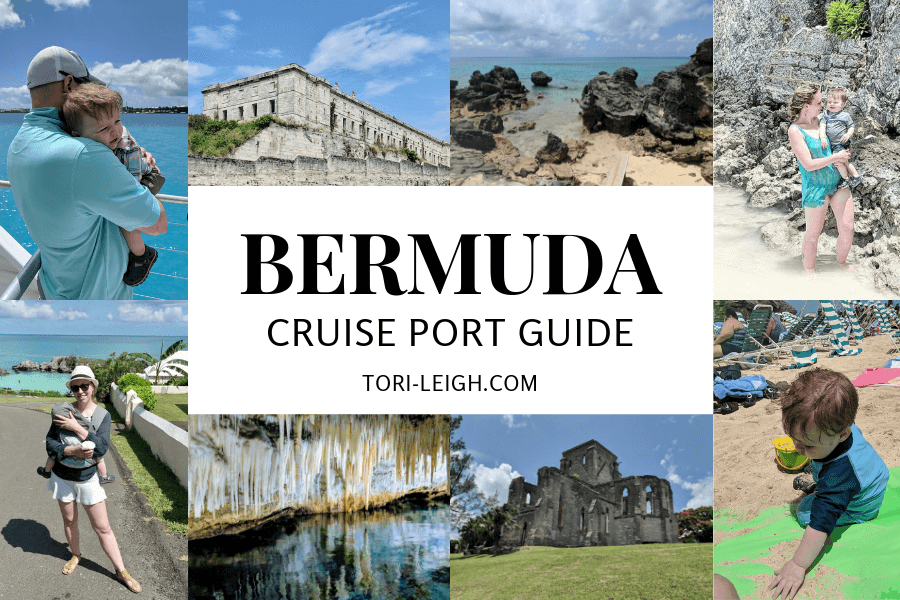 BERMUDA CRUISE PORT GUIDE cover