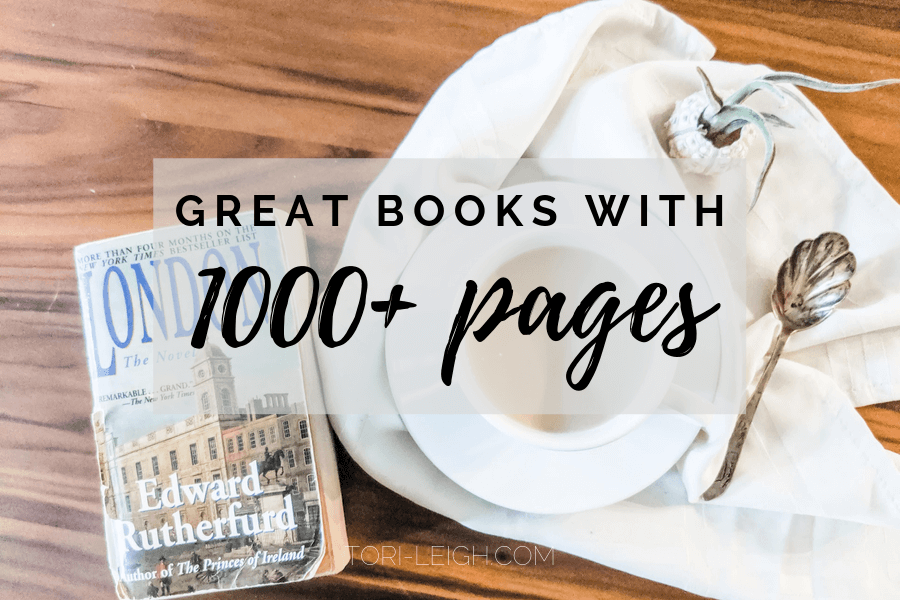 great books with over 1000 pages
