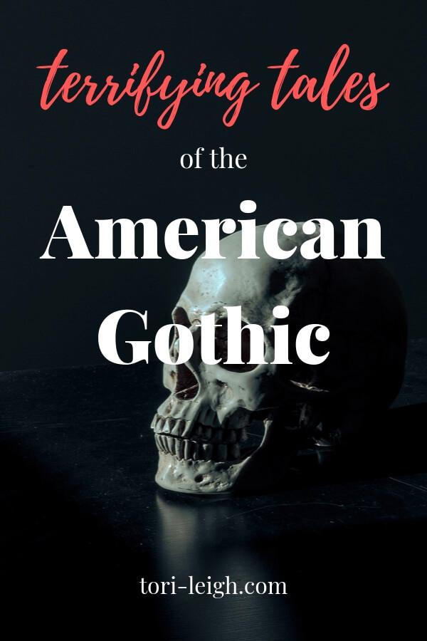 American Gothic Literature pin