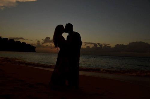our destination wedding in saint lucia