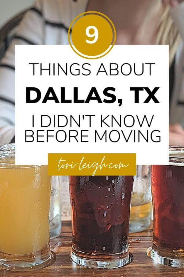 what i wish i knew before moving to dallas texas