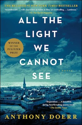All the Light We Cannot see is a WWII novel set in France and Germany