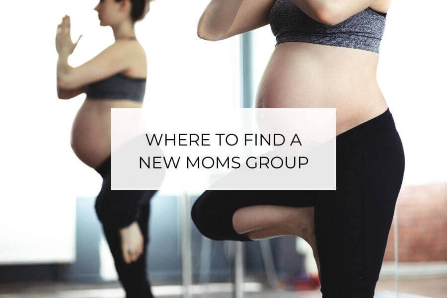 where to find a new moms group