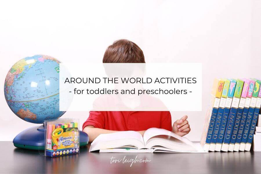 around the world theme activities for preschool