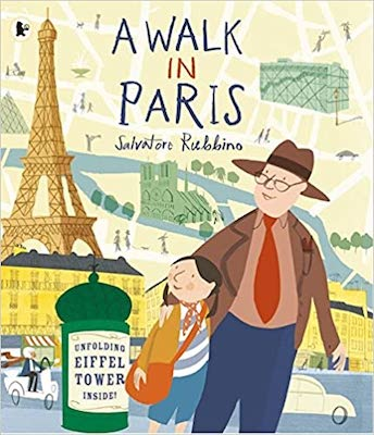Take a walk through Paris in this charming picture book for kids
