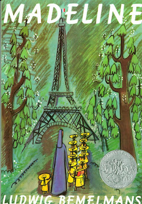 Madeline, one of the most poular kids books, tells about a curious girl living in paris