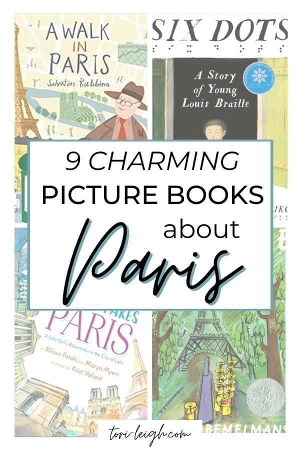 charming picture books about Paris