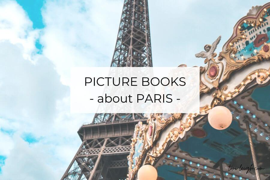 kids picture books about Paris