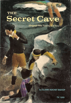 One of the older WWII novels for children, the secret cave is set in the French countryside
