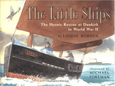 The Little Ships illustrates the battle of dunkirk for children
