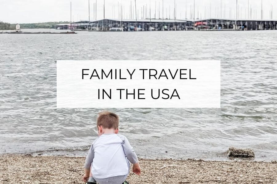 family travel in the USA
