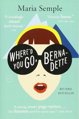 funny book club books Where'd You Go Barnadette