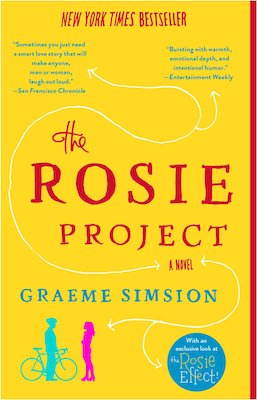 funny book club books The Rosie Project