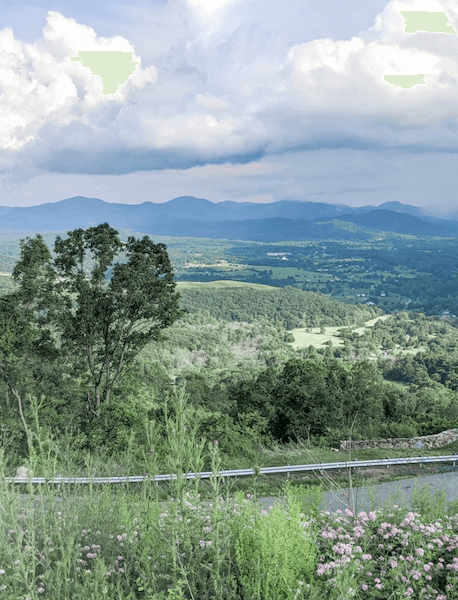 traveling all 50 states with kids - Shenandoah, virginia