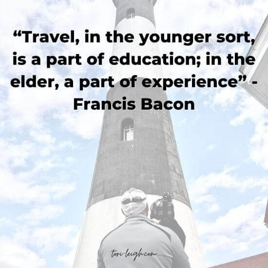 family travel quotes bacon