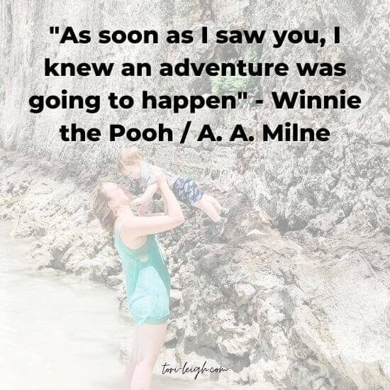 family travel quotes - winnie the pooh through A. A. Milne