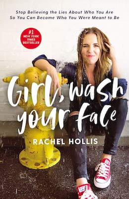 popular personal development books - girl wash your face