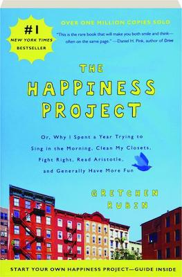 popular personal development books  - the happiness project