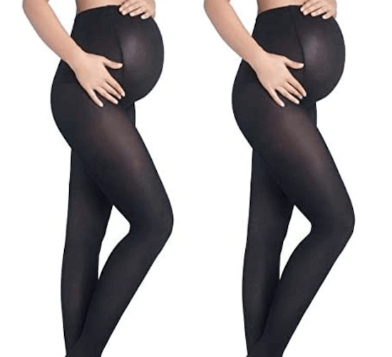 stretch your pre-pregnancy wardrobe longer with maternity tights