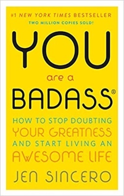 personal development books for moms - you are a badass