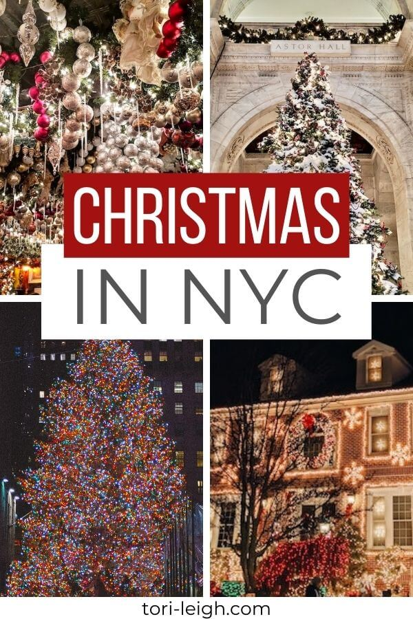 New York City Christmas Bucket List