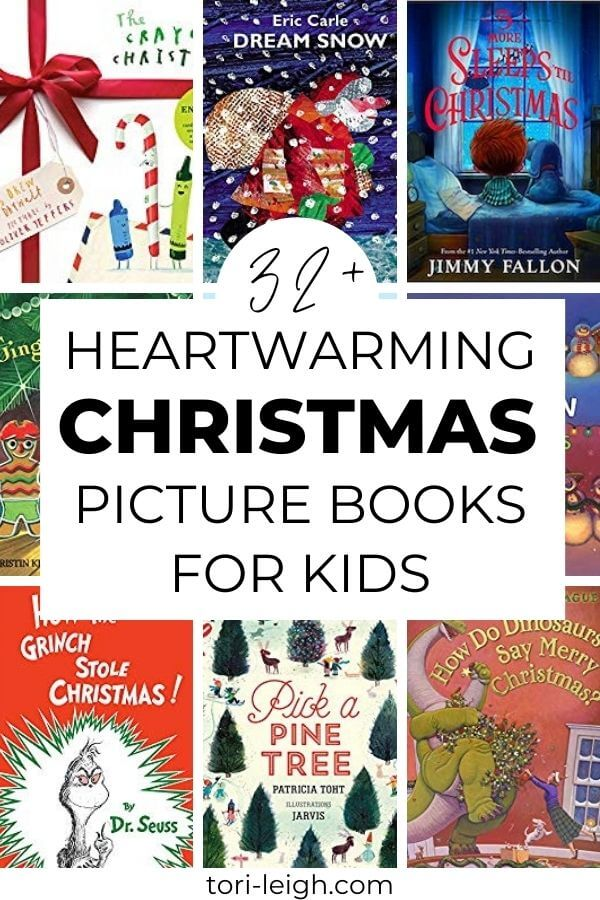 32+ heartwarming Christmas Picture Books to give in 2020