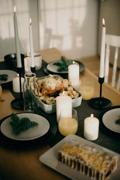 A traditional Scandinavian Christmas dinner is festive, elaborate, and designed to bring families together.