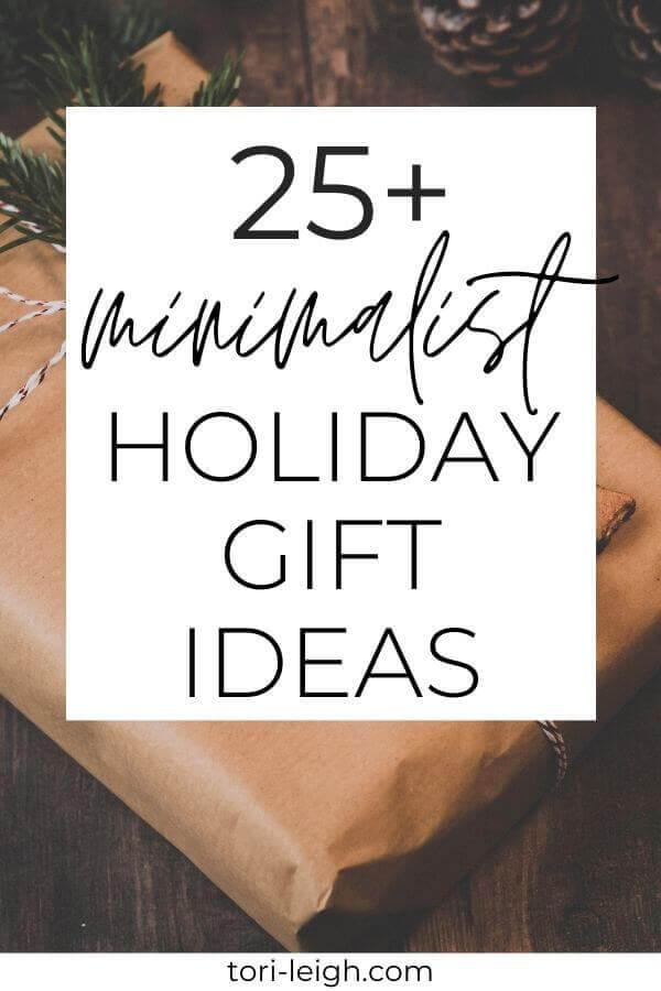 minimalist gift ideas 1