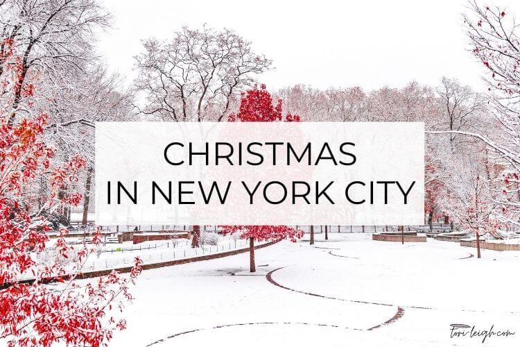 how to enjoy a new york city christmas