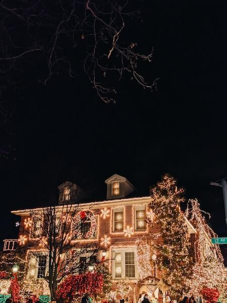 A premier New York City Christmas destination, Dyker Heights is a must.