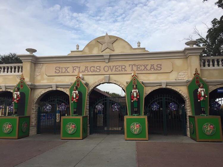 Six flags over TX, the largest holiday store, and a German Christmas market make Arlington one of the best places to celebrate Christmas in Texas