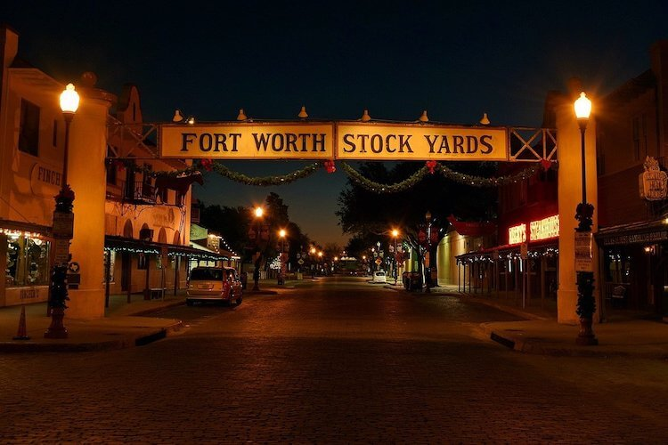 celebrate a cowboy christmas in Texas at Forth Worth at the stockyards
