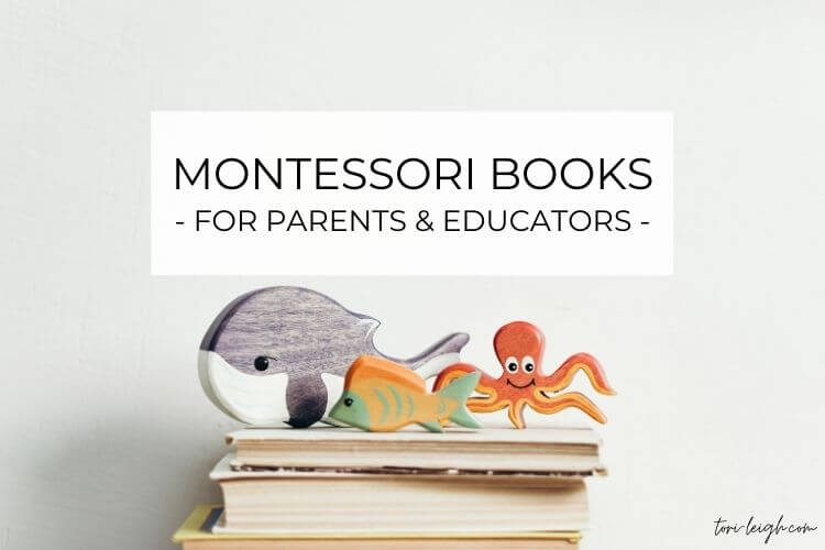the best Montessori books for parents and educators