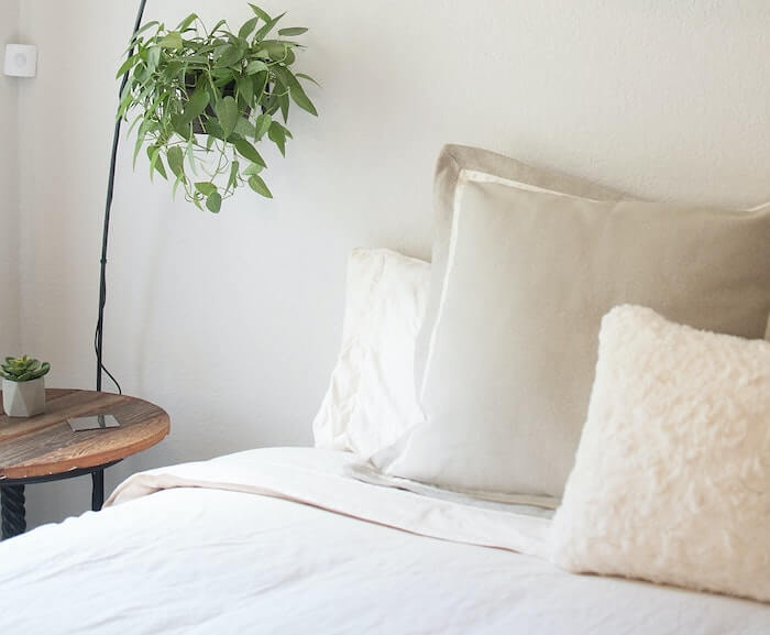 making the bed is an important step in a morning routine for moms who want organization and a sense of accomplishment