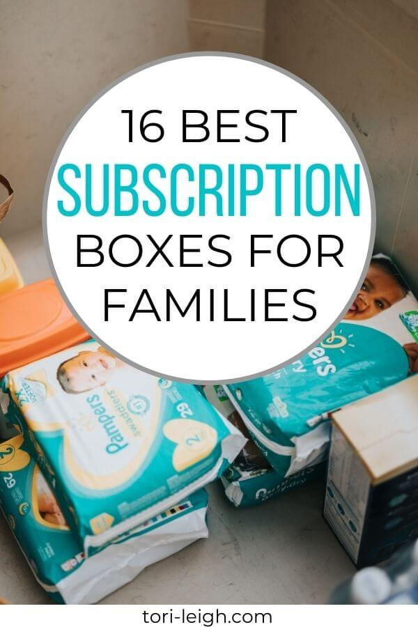 best subscription boxes for families