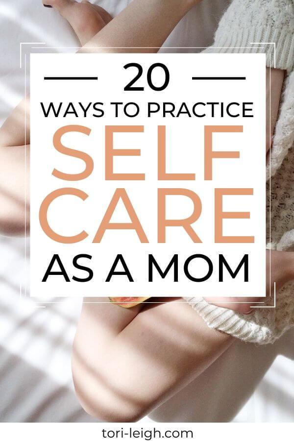 self care as a mom