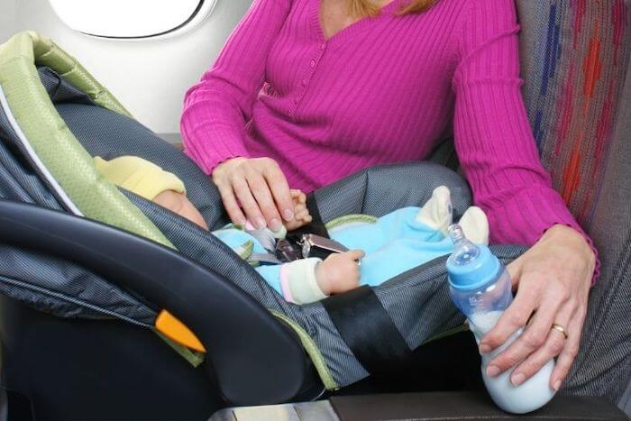 you can bring formula and breastmilk on board in reasonable quantities