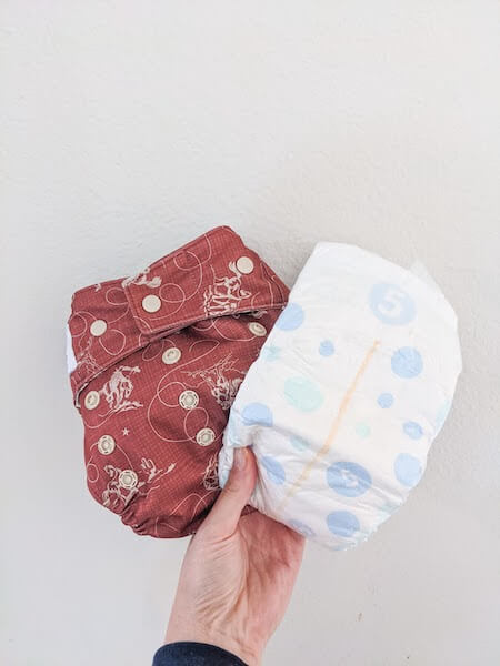 what is part time cloth diapering, what does it entail, and is it a solution for you?