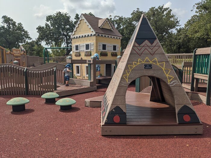 wondering how to get kids outside? start with finding new playgrounds and play places