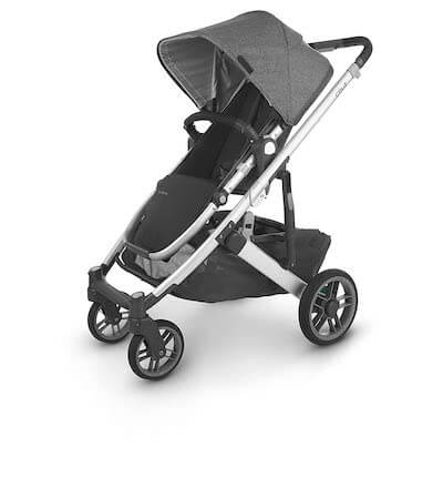 the uppababy cruz is one of the best strollers for travel and beyond for the ease and weight