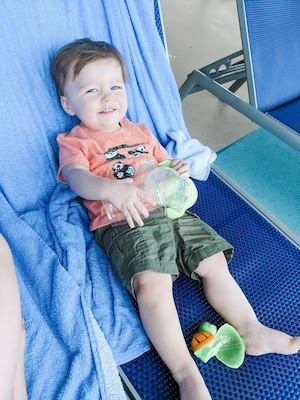 enjoy the pool and cruise amenities even if you're cruising with a baby or toddler