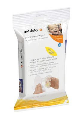 medela breast pump wipes for cleaning on the go