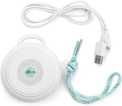 the rohm portable white noise machine is an inexpensive but important baby travel essential