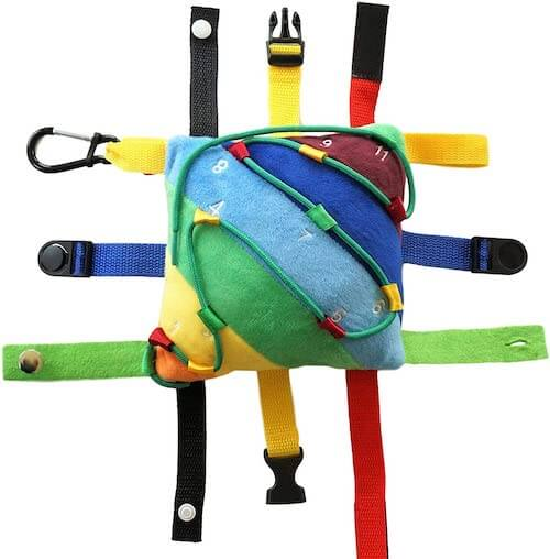 buckle pillow toy