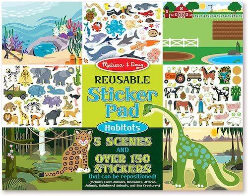 melissa and doug reusable sticker pads