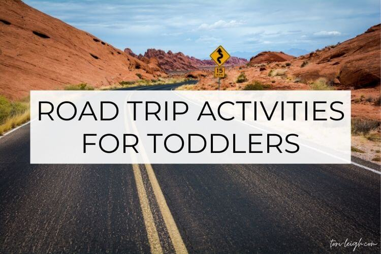road trip activities for toddlers