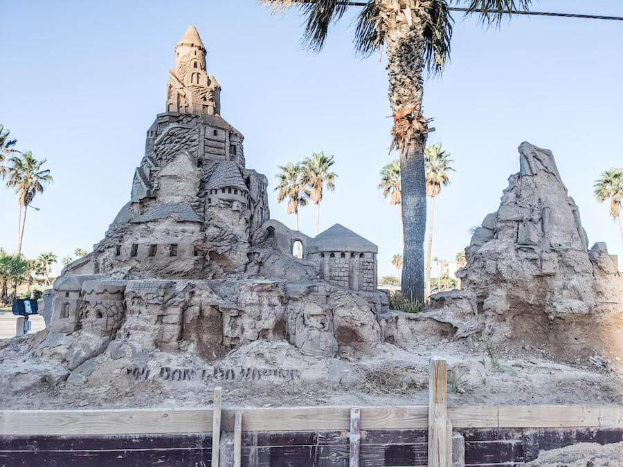 Visit the largest outdoor sandcastle in the USA in South Padre